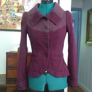 Free People Purple Jacket